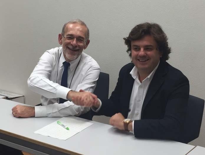 Symborg y Biogard firma del acuerdo distribución para Italia